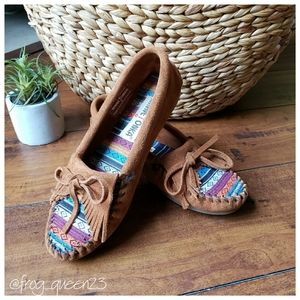 Colorful Minnetonka Moccasins